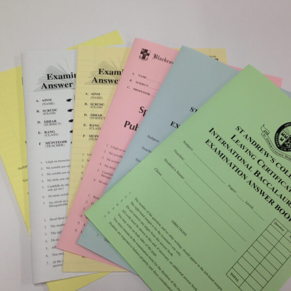 Examination Answer Booklets
